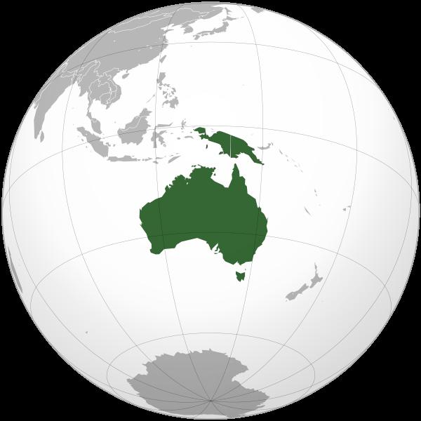 Credit: Wikipedia - Australia (Continent)